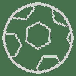 Icono de pelota de futbol