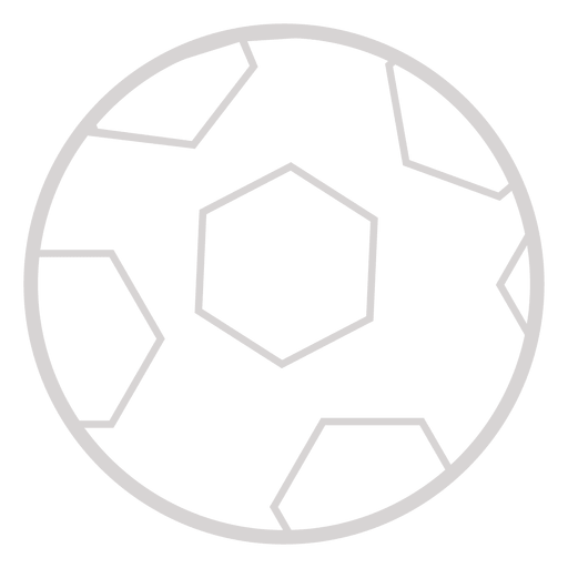 Soccer ball icon Transparent PNG