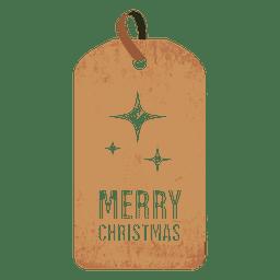 Sparkles christmas tag