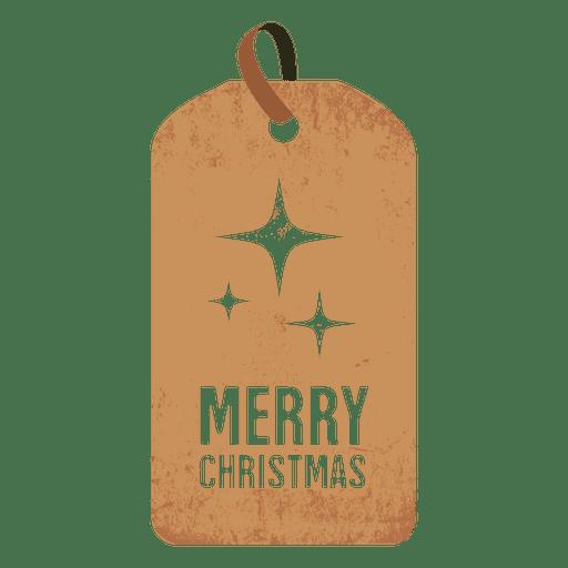 Tag do Natal dos Sparkles Transparent PNG