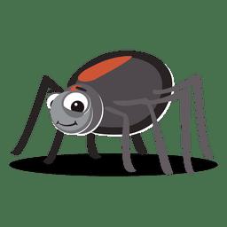 Spinnen-Cartoon