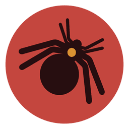 Ícone de círculo de aranha 1