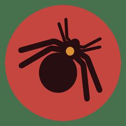 Spider circle icon 1