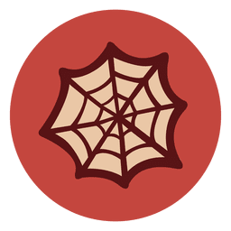 Spider web circle icon 1