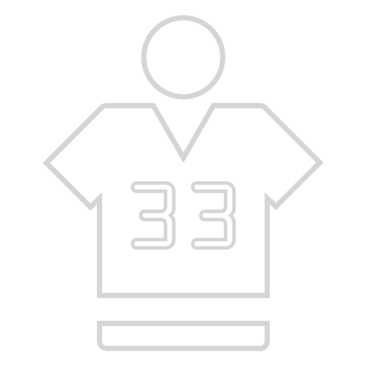 Sport jersey icon Transparent PNG
