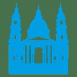 Horizonte de la basílica de san stephen
