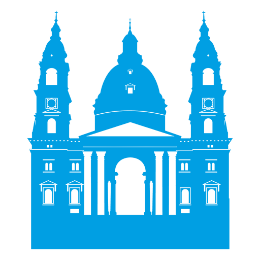Horizonte de la basílica de san stephen Transparent PNG