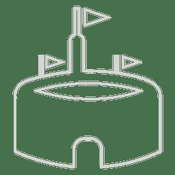 Ícone do estádio