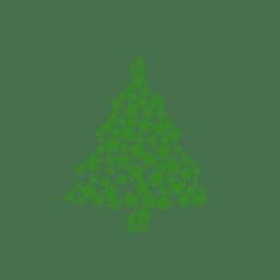 Decoração Dos Desenhos Animados Da árvore De Natal Baixar