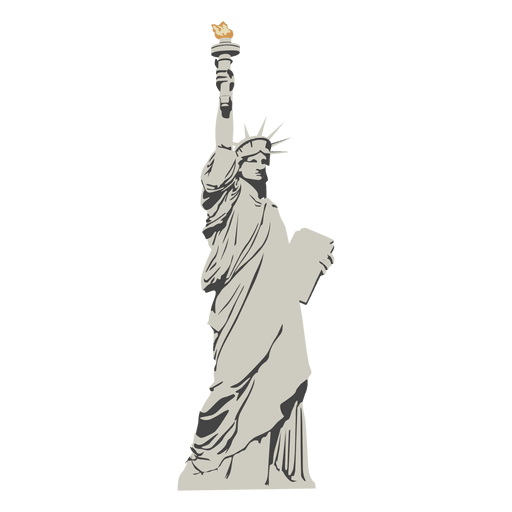 statue of liberty cartoon png