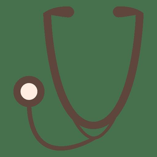 Stethoscope Icon Silhouette