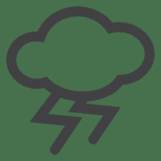 Rayo de tormenta Transparent PNG