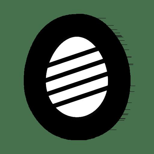 Huevo rayado Transparent PNG