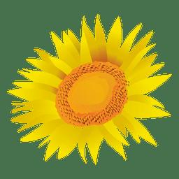 Sonnenblume-Cartoon