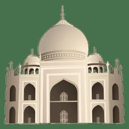 Dibujos animados de Taj mahal