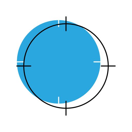 Target location icon Transparent PNG