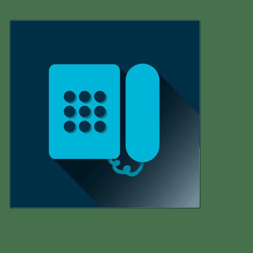Icono de teléfono cuadrado Transparent PNG
