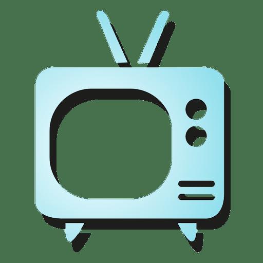 Icono de television Transparent PNG