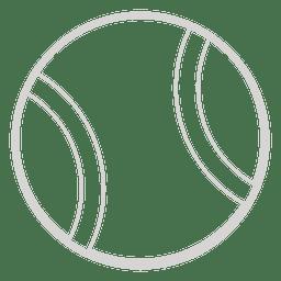 Icono de pelota de tenis