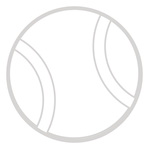 Tennis ball icon Transparent PNG