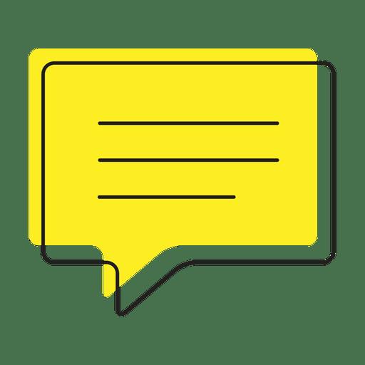Icono de chat de mensaje de texto