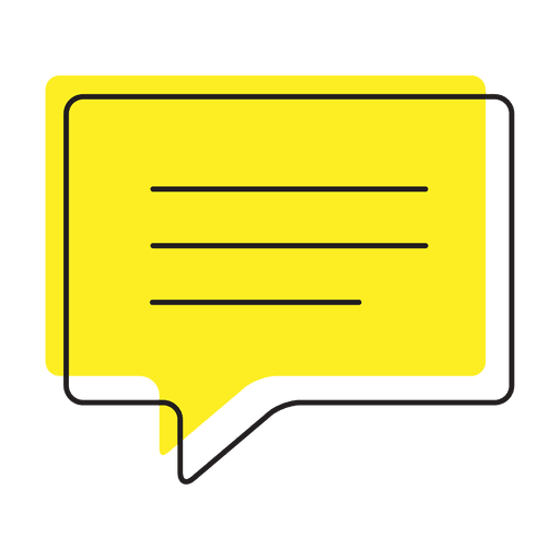 Text message chat icon