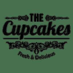 Los bizcochos etiqueta decorativa