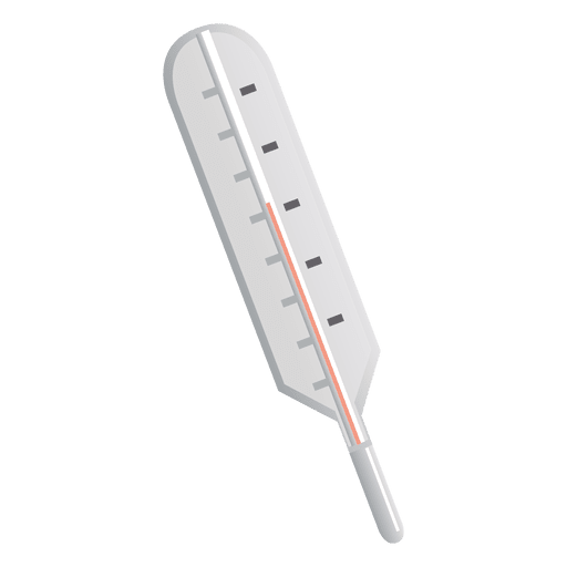 Flat Thermometer icon