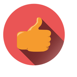 Thumbs up circle icon