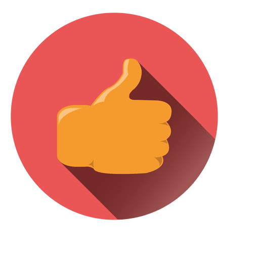 Thumbs up circle icon - Transparent PNG & SVG vector
