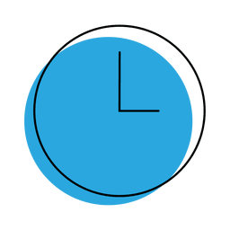 blue clock icon png. time clock icon blue png