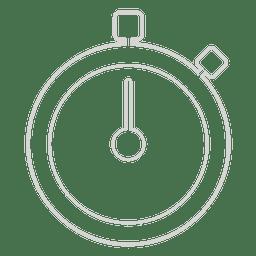 Ícone de relógio temporizador