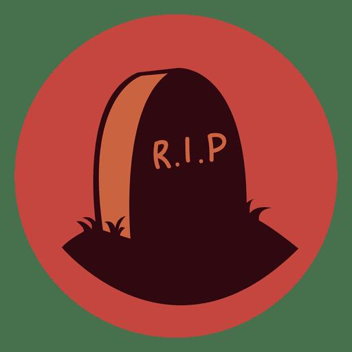 Ícone de círculo de rasgão de lápide Transparent PNG