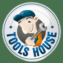 Ferramentas logotipo da casa