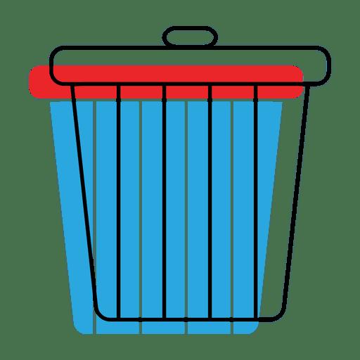 Ícone de deslocamento da lixeira Transparent PNG