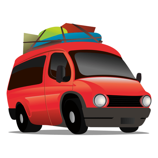 Carro de viagem Transparent PNG