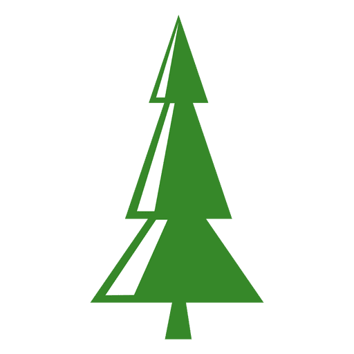 Triangles Pine Tree Icon Transparent Png Svg Vector File