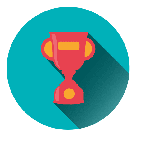 Trophy Round Icon Transparent PNG