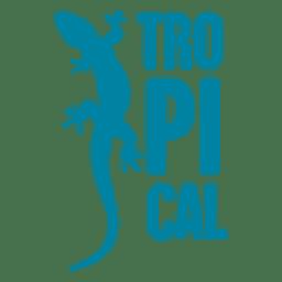 logotipo de los animales tropicales
