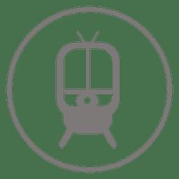 Trum circle icon