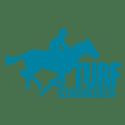 Logotipo de estatísticas de relva