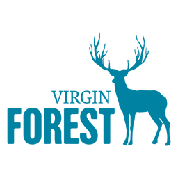 Logotipo da floresta Vergin