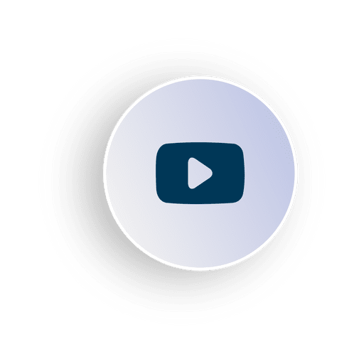 Video circle icon Transparent PNG