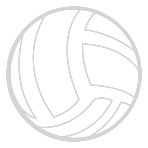 Volleyball icon Transparent PNG