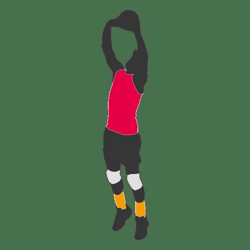 Jogador de vôlei 1 Transparent PNG
