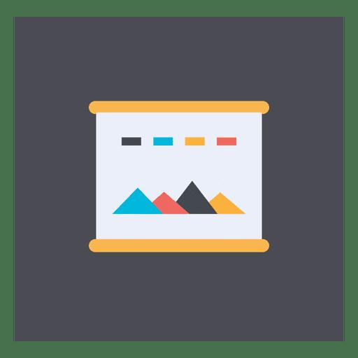 Web page square icon