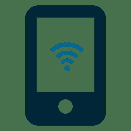 Pantalla movil wifi Transparent PNG