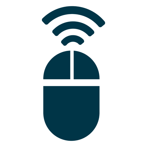 Wireless mouse icon Transparent PNG