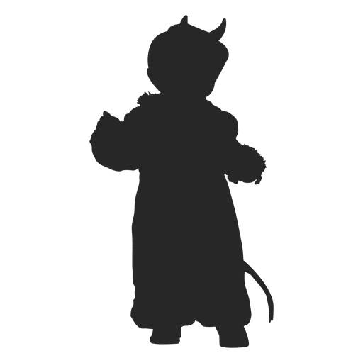 Witch cat children costume
