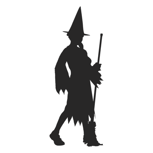 Witch children costume Transparent PNG